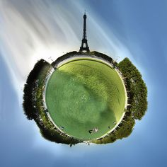 Wee Planets! Alexandre Duret-Lutz has this amazing flickr collection on small planets.