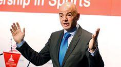 El presidente de la FIFA propone un Mundial de fútbol con 48 selecciones