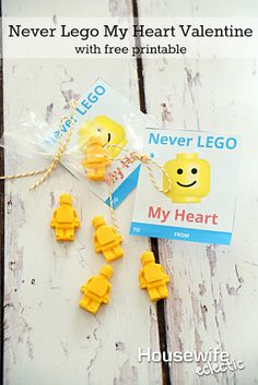 Housewife Eclectic: Never Lego My Heart Valentine with Free Printable