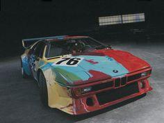 BMW M1 Art Car by Andy Warhol, 1979