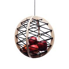 Pluk hanging fruit basket (Ash version) I love it when simplicity, usefulness, and elegance come together.