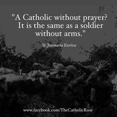 """#StJosemariaEscriva #Catholic #Prayer"""