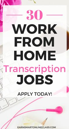 Are you looking for transcription jobs that you can do from home. This list has 30 transcription companies that hire both entry level and experienced trascriptionists Transcription Jobs From Home, Transcription Jobs For Beginners, Work From Home Moms, Make Money From Home, How To Make Money, Companies Hiring, Online Jobs From Home, Importance Of Time Management, Legitimate Work From Home
