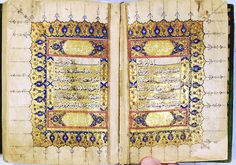 VERY IMPORTANT KORAN ATTRIBUTED TO GREAT SCRIBE HAFIZ OSMAN. FINEST CALLIGRAPHY