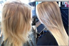 TERRY DUNN HAIRDRESSING  BEFORE AND AFTER PICTURES  MOTHERWELL  ML1 3JW  01698 321068  STRATHCLYDE SCOTLAND