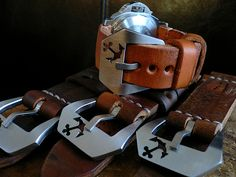 Anchor leather strap for your fly ass watch by Gregoire Texier!!! #mensaccessories