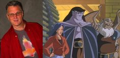 Did you know that originally GARGOYLES was pitched as a comedy series in the style of THE ADVENTURES OF THE GUMMI BEARS, although set in modern times?  When this proposal was rejected, Disney producer Tad Stones suggested that the series be altered to include a tragic lead gargoyle (who would become Goliath), and the concept became an action-oriented series.  Copyright Disney Enterprises, Inc. All rights reserved.