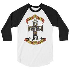 The Lost Boys Appetite for New Blood sleeve raglan shirt Movie Gift, Lost Boys, Raglan Shirts, Gifts For Boys, Blood, Inspired, Trending Outfits, Sleeves, Mens Tops