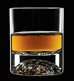 Orrefors On the Rocks glass. Not to be used for single malts!!