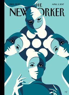 """""""Operating Theatre"""", copertina per The New Yorker, 3 aprile 2017"""