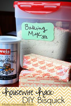 Mostly Homemade Mom: Housewife Hack: DIY Bisquick