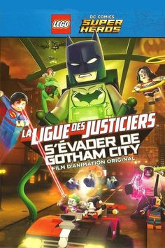 LEGO DC Comics Super Heroes: Justice League - Gotham City Breakout Full Movie Online 2016