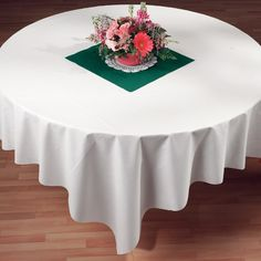 Paper table cover-perfect for weddings! Nicer than plastic, and less expensive than linen.