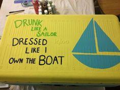 dressed like i own the boat