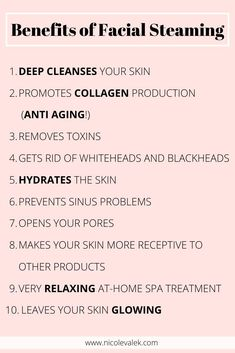 Face Skin Care, Diy Skin Care, Facial Benefits, Facial Steaming, Steaming Your Face, Skin Care Routine Steps, Face Routine, Facial Care, Up Dos