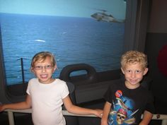 Battleship simulator in the National Air and Space Museum