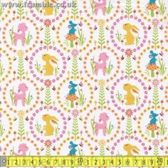 Woodland Tails Friends Pink