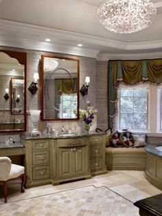 Tile is often the most used material in the bathroom — so choosing the right one is an easy way to kick up your bathroom's style. See how top designers create lovely loos with marble, ceramic, porcelain and glass tile.