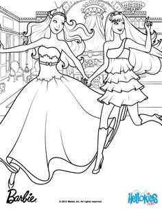 Keira Tori When They First Met Barbie Coloring Page More The Princess