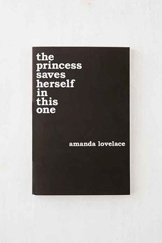 the princess saves herself in this one By Amanda Lovelace - Urban Outfitters