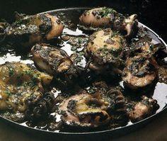 Choquinhos com Tinta - Gastronomia de Portugal
