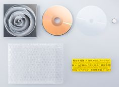 Packaging by Spread for Jeff Millsx Soutaiseiriron CD, Spectrum.