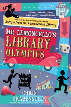 Download Ebook Mr. Lemoncello's Library Olympics (Chris Grabenstein) PDF, EPUB, MOBI