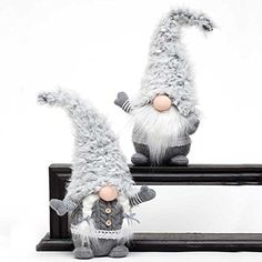 "GREY VIKING/GNOME WITH WOOLY HAT SET OF 2 BOY/GIRL 16"" Zi... https://www.amazon.com/dp/B076XKFMMD/ref=cm_sw_r_pi_dp_x_elocAbZKD41JC"