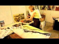 VSW 34 Encaustic demo April 2012.m4v - YouTube
