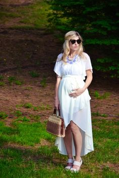 My goal this summer will be to stay cool and look cute with the baby bump! Wish I was a little taller haha!
