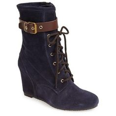 Women's Andre Assous Suede Wedge Boot