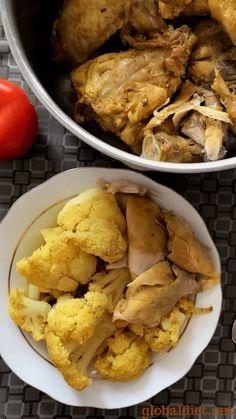 Curried Chicken with Cauliflower