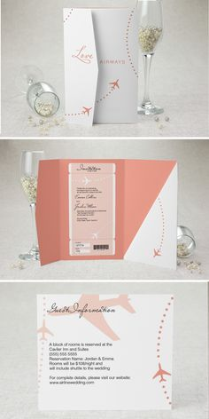 Travel Themed wedding invitations - Travel themed wedding ideas - Travel lover wedding ideas - wedding invitations for long distance couple - destination wedding invitations - travel wedding ideas Destination Wedding Invitations, Wedding Invitation Wording, Wedding Stationary, Wedding Planning, Invitation Ideas, Invitation Cards, Invites, Pilot Wedding, Wedding Inspiration