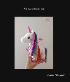 Crochet Amigurumi, Octopus, Dinosaur Stuffed Animal, Unicorn, Kawaii, Mini, Etsy, Crochet Hook Sizes, Bears