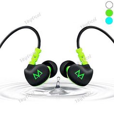 MAYA S6 Waterproof Sweatproof Sports In-ear Headset Earphones with Microphone EEP-358350