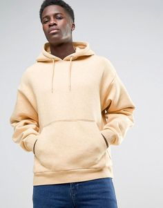 Get this Weekday's hooded sweatshirt now! Click for more details. Worldwide shipping. Weekday Big Hawk Hoody - Yellow: Hoodie by Weekday, Soft-touch sweat, Drawstring hood, Dropped shoulders, Over-the-head style, Pouch pocket, Regular fit - true to size, Machine wash, 79% Cotton, 20% Polyester, 1% Viscose, Our model wears a size Medium and is 6'2.5�/189 cm tall. Weekday founders �rjan Andersson and Adam Friberg honed their signature Scandinavian style across a cult line of skinny jeans. F...