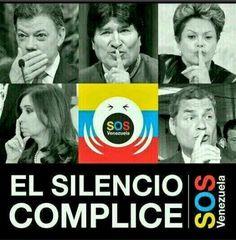 El silencio de los complices -.- #SOSVenezuela
