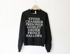 Harry Potter Sweater by SoEffingCute on Etsy, $45.50