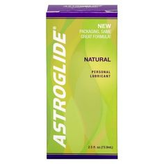 Astroglide Natural, All Natural Personal Lubricant - 2.5 oz