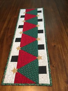 Christmas Tree Quilt Pretty Christmas Trees Christmas Tree On Table Christmas Gift Decorations Christmas Runner Christmas Sewing Holiday Tables Christmas Crafts Christmas Patchwork Quilted Table Runners Christmas, Christmas Tree On Table, Christmas Tree Quilt, Pretty Christmas Trees, Patchwork Table Runner, Christmas Patchwork, Christmas Runner, Christmas Tree Pattern, Table Runner And Placemats