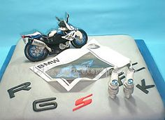 bmw motorcycle birthday cake   #bikers #motorcycle_love