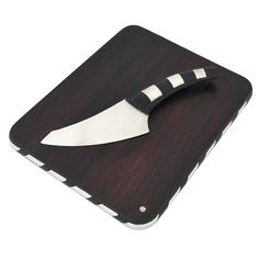William Spratling Sterling Silver & Rosewood Cheese Board & Knife | From a unique collection of antique and modern serving pieces at http://www.1stdibs.com/furniture/dining-entertaining/serving-pieces/