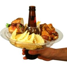 The Go Plate Reusable Food & Beverage Holder: 21 Plates : Amazon.com : Kitchen & Dining