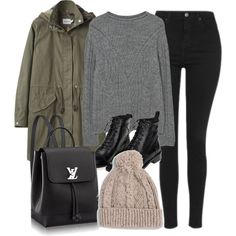 Beanie Hat Outfit Ideas For Fall-Winter 2017
