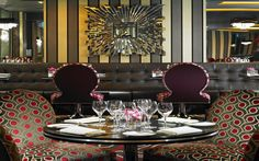 Flemings Grill, is an opulent and stylish Rosette-winning restaurant. The menu serves elegant European grill food with robust, big colourful flavours and the best seasonal ingredients. Hotel Apartment, London Apartment, Mayfair London, London Hotels, Town And Country, Hotel Reviews, Luxury, Grill Restaurant, Home Decor