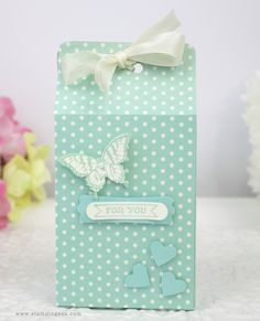 Stampin' Geek  Stampin' Up! AU - Butterfly and Polka Dot Bag