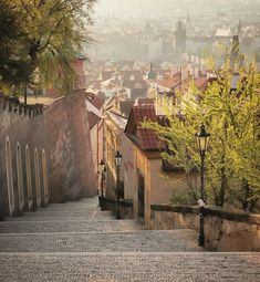 Czech Republic, Traveling, Prague, Bohemia, Stairways, Viajes, Trips, Travel