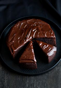 Chocolate Baileys Mud Cake - Citrus and Candy by Soy