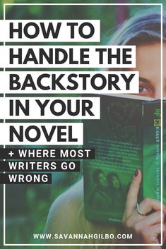 How to Handle Backstory in Your Novel (Without Info-Dumping) - Creative Writing Tips, Book Writing Tips, Writing Words, Fiction Writing, Writing Resources, Writing Help, Writing Skills, Writing Prompts, Writing Outline