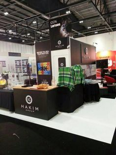 Hakim Group stand taking shape! #TeamHakim #100optical #opticians #london